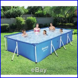 7.2ft Bestway Pro Steel Frame Swimming Pool Garden Family Outdoor Paddling New