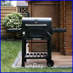 CosmoGrill Barbecue BBQ Outdoor Charcoal Smoker Portable Grill Garden 124x66x114