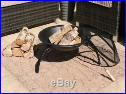 Fire Pit Round Patio Heater Log Bowl Bbq Folding Patio Garden Outdoor Camping