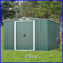 Metal Shed Outdoor Tool Storage