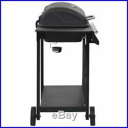 Gas BBQ Grill with 6 Cooking Zones Outdoor Garden Barbecue Functional Burner NEW
