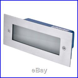 LED Stainless Steel Mini Brick Light Outdoor Garden Recessed Step Wall Lights UK