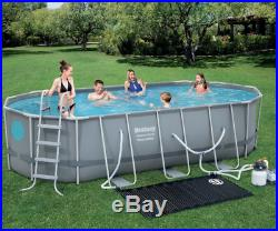 Large Swimming Pool Steel Above Ground Garden Family Party Outdoor Summer Cover
