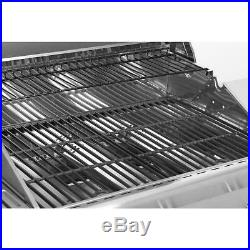 NEXGRILL large Barbecue Gas Grill Outdoor Cooking Garden BBQ 3 Burner & Side