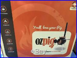 OZPIG BBQ & wood fired garden heater. Fabulous for outdoor cooking. Brand New
