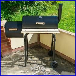 Outdoor Garden Multi Purpose Bbq Smoker With Tool Set Cooking Grilling Barbeque